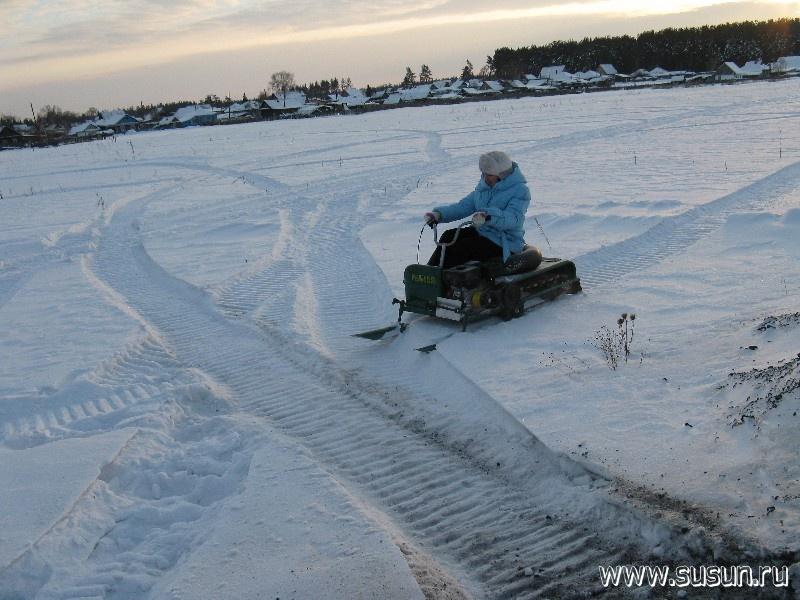 снегоход в новосибирске рыбак 2м